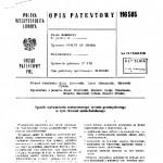 opis patentu