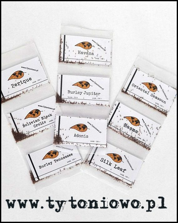 nasiona tytoniu zestaw