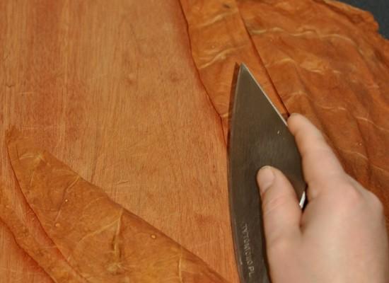 Domowy wyrób cygar-Pokrywa cygara (wrapper)